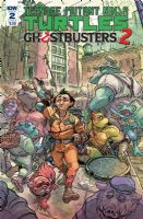 Teenage Mutant Ninja Turtles - Ghostbusters 2 #2 - Cover B